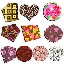 Переводные листы для шоколада