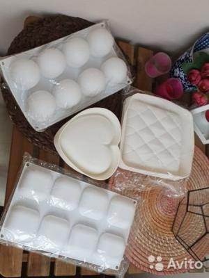 Формы силиконовые муссовых десертов