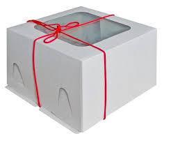 Коробки для тортов с окном