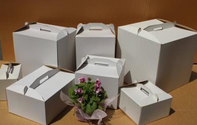Коробки для тортов без окна
